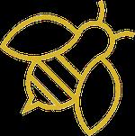 Gold Bee 45º thumb